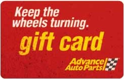 $50 Advance Auto Parts Gift Card