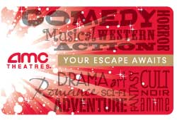 $10 AMC Theaters Gift Card